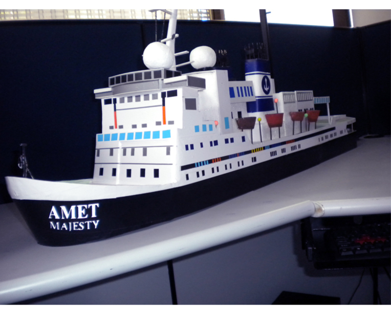 AMET Cruise Liner's Miniature for Press Release