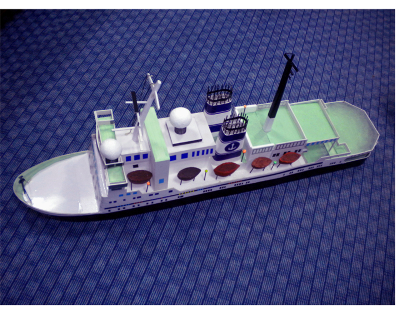 Cruise Ship Miniature Cruise Liner's Miniature