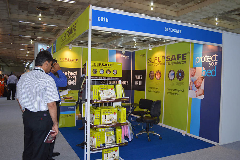 India Mattress Tech Expo 2014 : New Delhi.