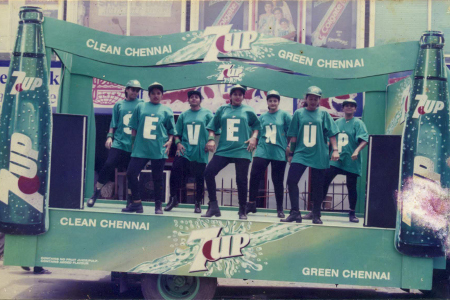 1997 - 7 UP - Clean Chennai Green Chennai Campaign
